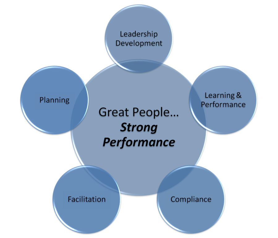 Great People, Strong Performance Diagram